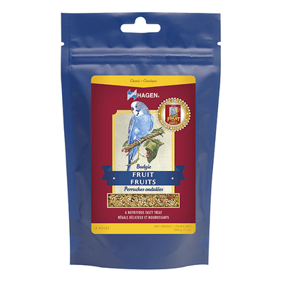 Hagen Budgie Fruit Treat - 200 g | Pisces Pets