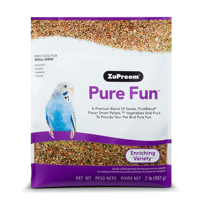 Zupreem Pure Fun for Small Birds 945 g | Pisces Pets