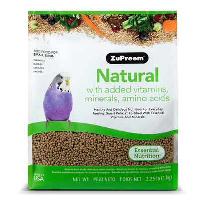 ZuPreem Natural Small Birds 1 Kg | Pisces Pets