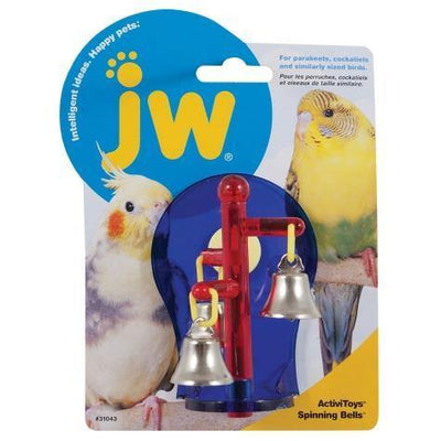 JW ActiviToy Spinning Bells | Pisces Pets
