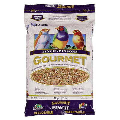 Hagen Gourmet Seed Mix for Finches - 1 kg | Pisces Pets