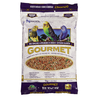 Hagen Gourmet Seed Mix for Budgies - 1 kg | Pisces Pets