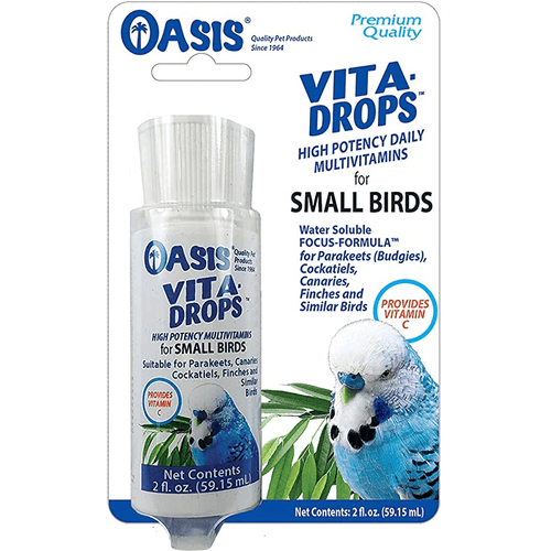 Oasis Vita Drops for Small Birds | Pisces Pets