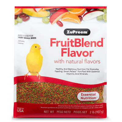 ZuPreem FruitBlend Very Small Birds 907 g | Pisces Pets