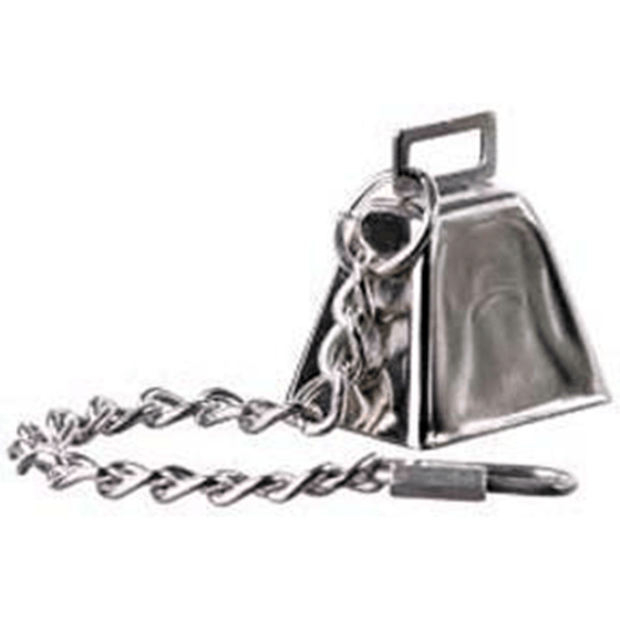 Super Bird Cow Bell Chain Large | Pisces Pets