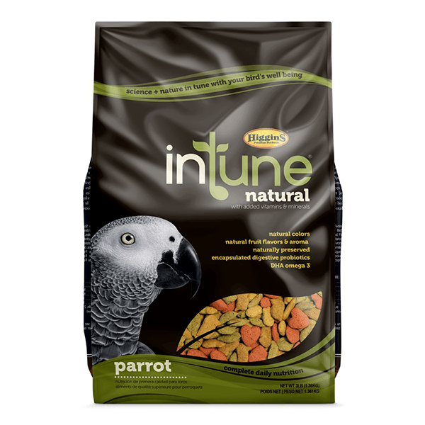Higgins InTune Natural Diet for Parrots | Pisces Pets