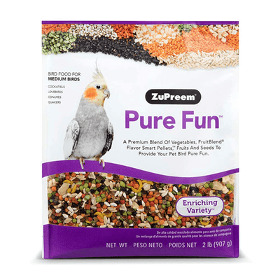 ZuPreem Pure Fun for Medium Birds 965 g | Pisces Pets