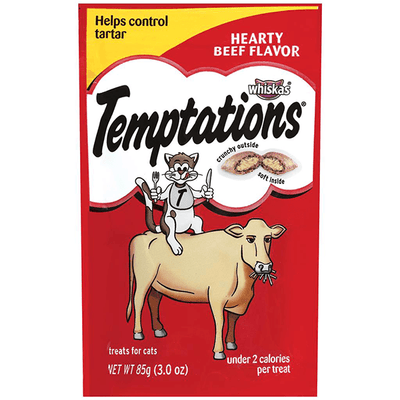 Temptations Hearty Beef - 85 g