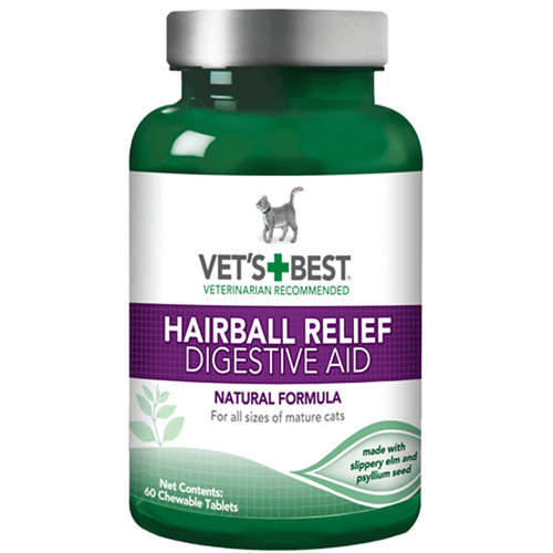 Vet's Best Hairball Relief Digestive Aid | Pisces Pets