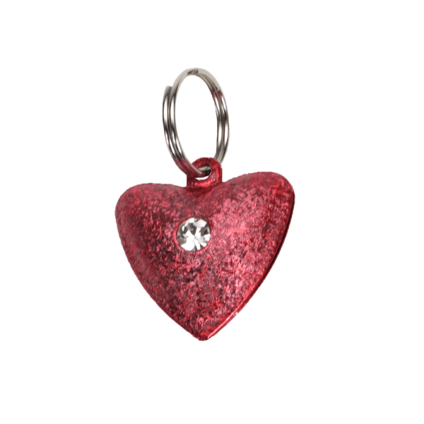 Coastal Pet Frosted Designer Heart Bell | Pisces Pets