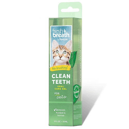 Tropiclean Fresh Breath Clean Teeth Gel for Cats | Pisces Pets