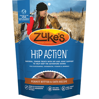 Zuke's Hip Action Peanut Butter & Oats Recipe | Pisces Pets