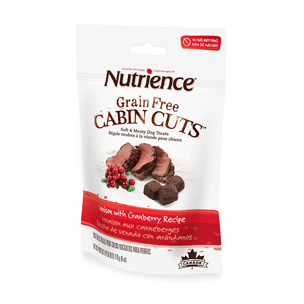 Nutrience Cabin Cuts Venison with Cranberry | Pisces Pets