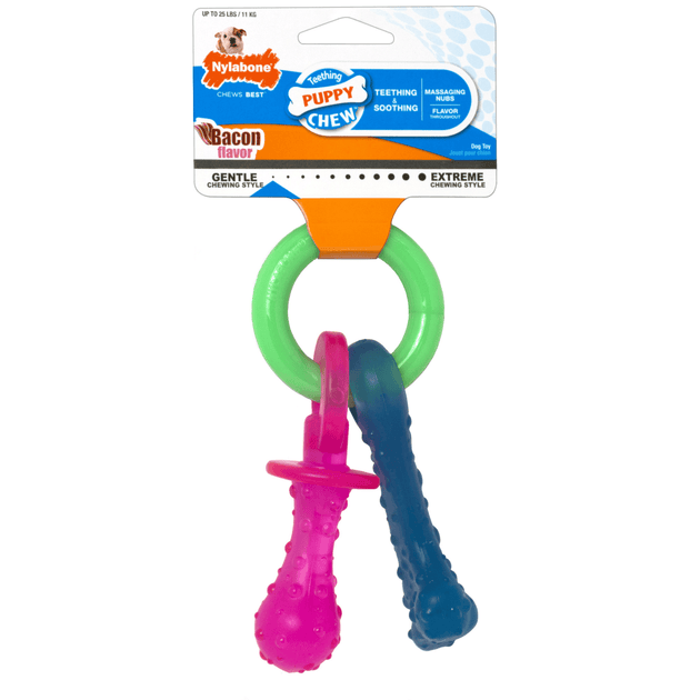 Nylabone Puppy Teething Pacifier | Pisces Pets