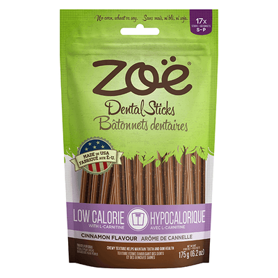 Zoe Low Calorie Dental Treats Cinnamon Flavour - Small | Pisces Pets