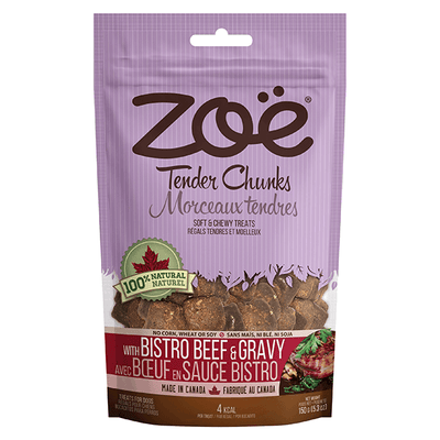 Zoe Tender Chunks Bistro Beef & Gravy Flavour | Pisces Pets