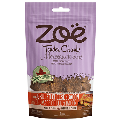 Zoe Tender Chunks Grilled Cheese & Bacon Flavour | Pisces Pets