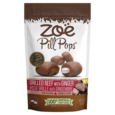 Zoe Pill Pockets Grilled Beef with Ginger Flavour | Pisces Pets