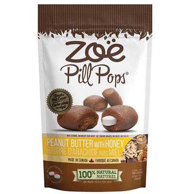 Zoe Pill Pockets Peanut Butter with Honey Flavour | Pisces Pets