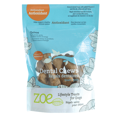 Zoe Lifestyle Antioxidant Dental Chews - Small | Pisces Pets