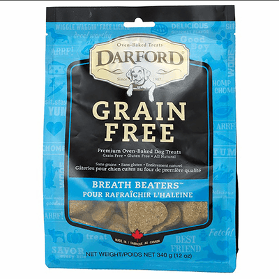 Darford Grain Free Breath Beaters - 340 g | Pisces Pets