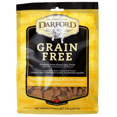 Darford Grain Free Cheddar Cheese Minis - 340 g | Pisces Pets