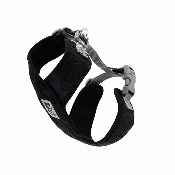 RC Pets Black & Grey Swift Comfort Harness - Available in 5 Sizes | Pisces Pets