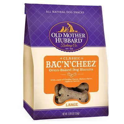 Old Mother Hubbard Classic Oven Baked Bac n' Cheez Large 1.36kg
