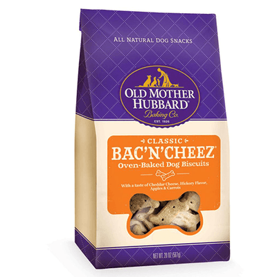Old Mother Hubbard Classic Bac'N'Cheez Small Biscuits | Pisces Pets