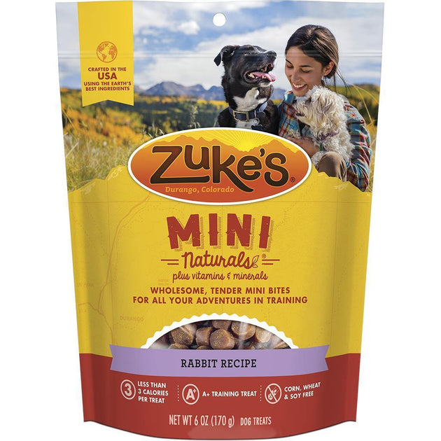 Zukes Mini Naturals Rabbit- 6OZ