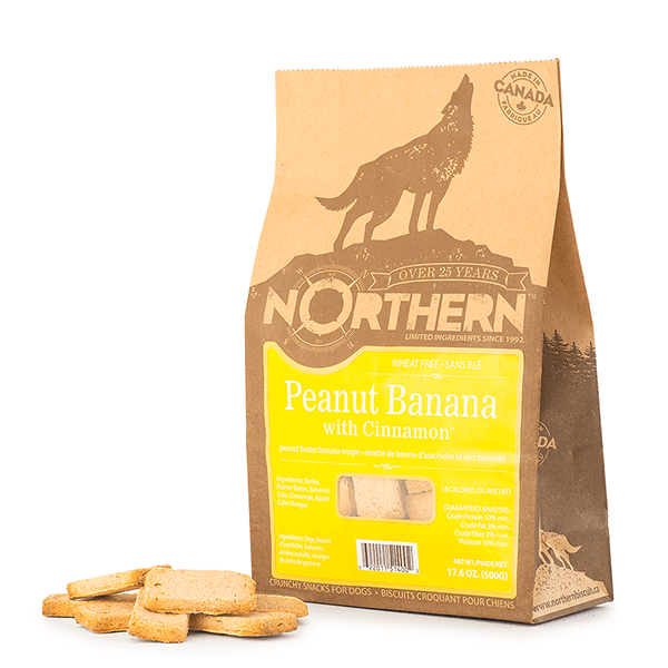 Northern Biscuit Peanut Butter Banana with Cinnamon | Pisces Pets