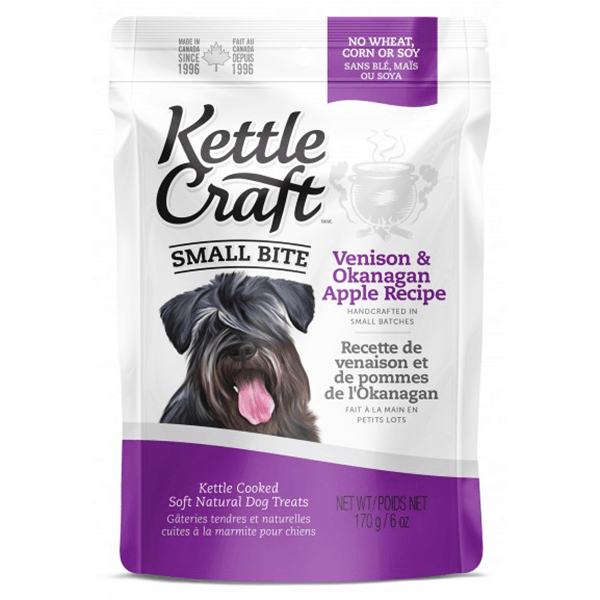 Kettle Craft Small Bite Venison & Okanagan Apple | Pisces Pets