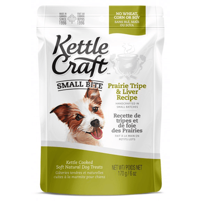 Kettle Craft Small Bite Prairie Tripe & Liver | Pisces Pets