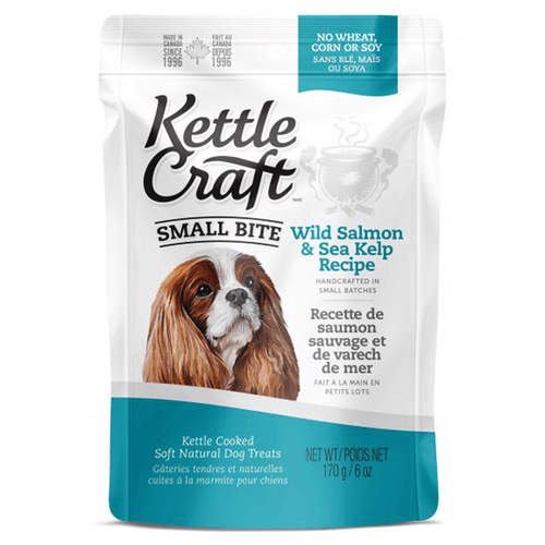 Kettle Craft Small Bite Wild Salmon & Sea Kelp | Pisces Pets