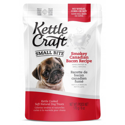 Kettle Craft Small Bite Smokey Canadian Bacon | Pisces Pets