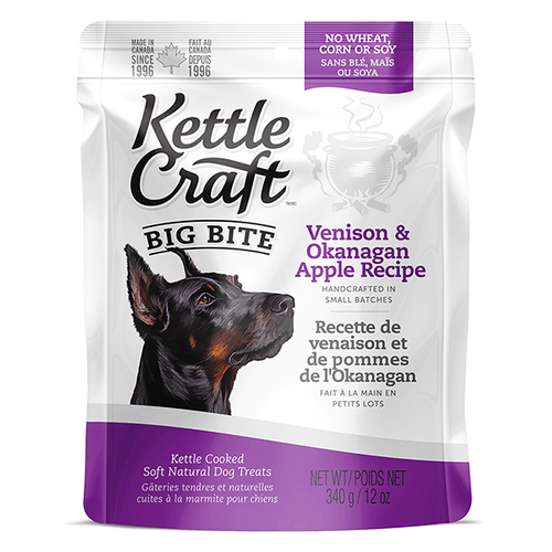 Kettle Craft Big Bite Venison & Okanagan Apple | Pisces Pets