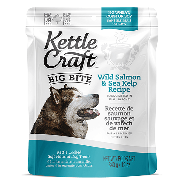 Kettle Craft Big Bite Wild Salmon & Sea Kelp | Pisces Pets