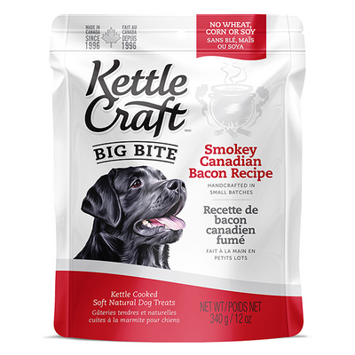 Kettle Craft Big Bite Smokey Canadian Bacon | Pisces Pets