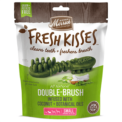 Merrick Fresh Kisses Coconut Oil Small - Available in Multiple Sizes | Pisces Pets