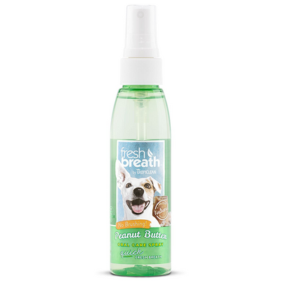 Tropiclean Peanut Butter Oral Care Spray | Pisces Pets