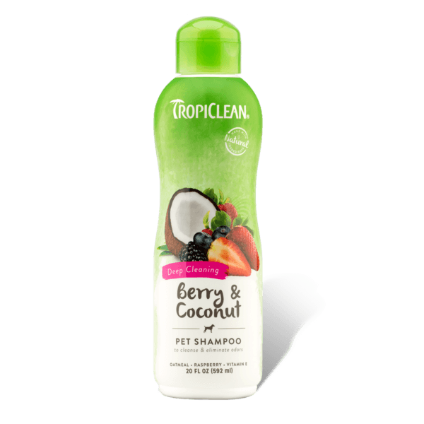 TropiClean Deep Cleaning Berry & Coconut Shampoo | Pisces Pets
