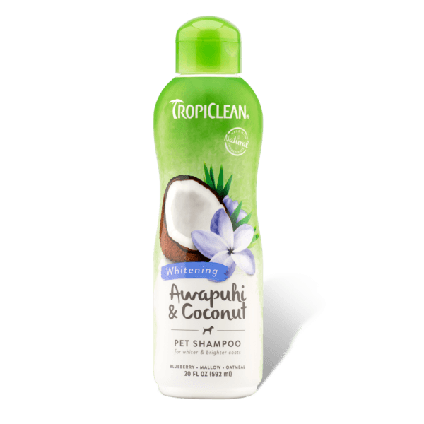 TropiClean Awapuhi & Coconut Whitening Shampoo | Pisces Pets