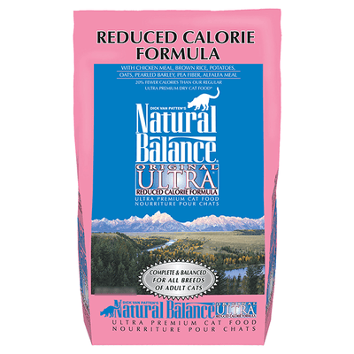 Natural Balance Original Ultra Reduced Calorie Cat Food | Pisces Pets