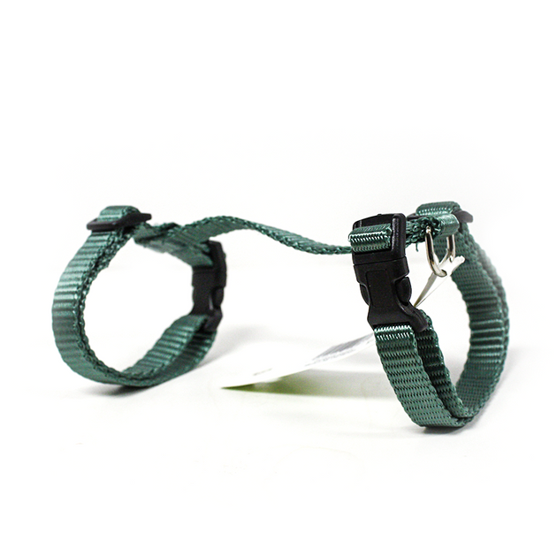 Paw Tracks Pets Adjustable Cat Harness - Green