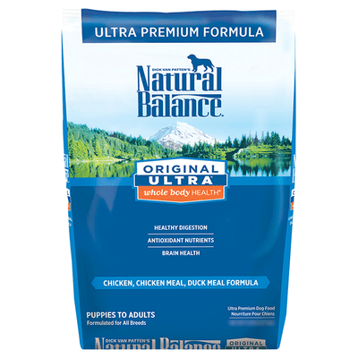 Natural Balance Whole Body Health Chicken, Chicken Meal & Duck Meal Dog Food | Pisces Pets