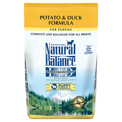 Natural Balance Limited Ingredient Potato & Duck Puppy Food | Pisces Pets