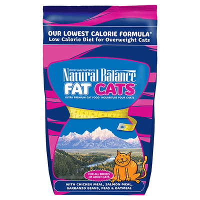 Natural Balance Fat Cats Low Calorie Cat Food | Pisces Pets