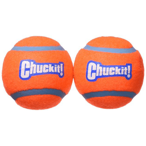 CHUCKIT! Tennis Ball 2 Pack - Medium | Pisces Pets