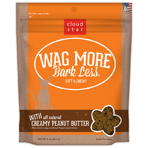 Wag More Bark Less Soft & Chewy Treats | Pisces Pets