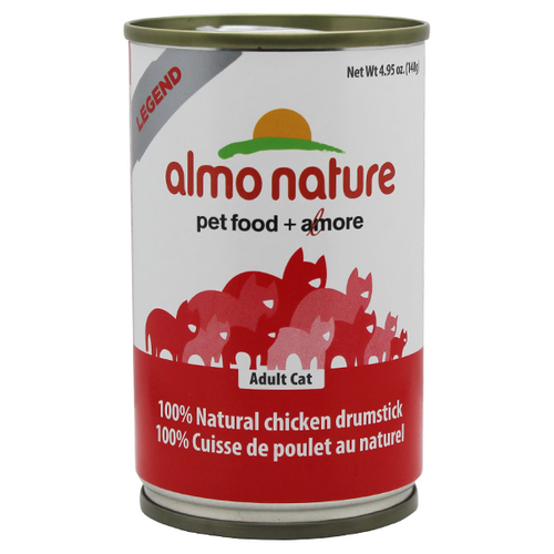 Almo Nature Natural Chicken Drumstick in broth | Pisces Pets